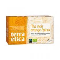 Terra Etica - Thé Noir Orange épices 20 sachets