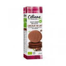 Céliane - Biscuits enrobés de chocolat au lait 140g
