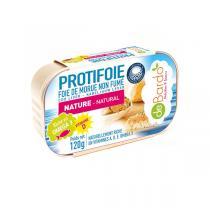 Protifoie - foie de Morue naturel non fumé 120g