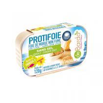Protifoie - Foie de Morue sans sel 120g