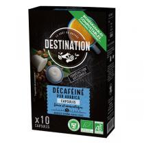 Destination - Décaféiné Pur Arabica capsules x10