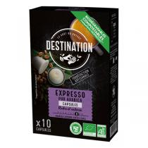 Destination - Expresso pur arabica Capsules x10