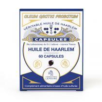 Dr J. Lefevre - Huile de Haarlem - 60 capsules