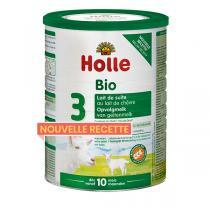Holle - Lot 6 x Lait de suite 3 au lait de chèvre bio 800g