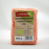 Hygiena - Lentilles rouges 500g