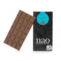 Nao Chocolat Belge - Tablette Chocolat Lait à la Pièce 90g