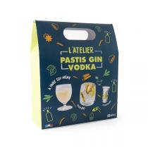 Radis et Capucine - Coffret DIY Pastis, Gin et Vodka à faire soi-même