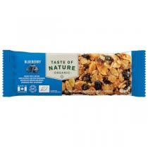 Taste of Nature - Barre myrtilles 40g