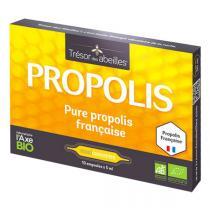 Trésor des Abeilles - Propolis Pure et Bio 10 ampoules de 5ml