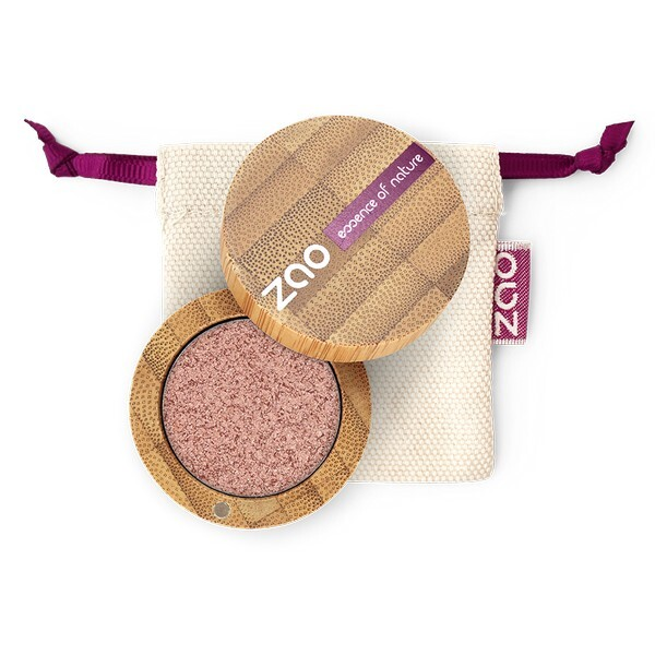 Zao MakeUp - Ombre a paupieres ultra shiny 271 Cuivre rose