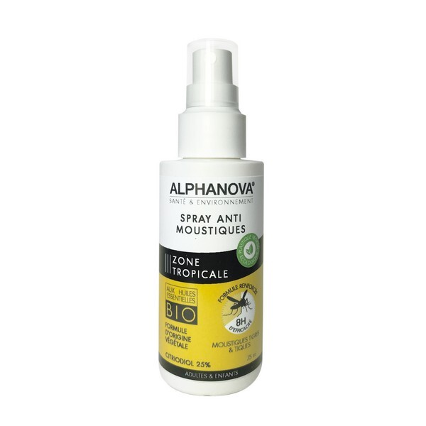 Alphanova - Spray anti moustiques zone tropicale 75ml