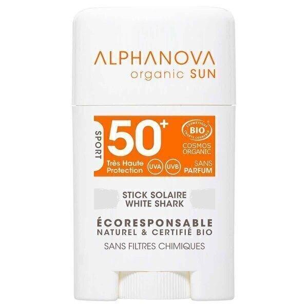 Alphanova - Stick solaire SPF50+ BLANC