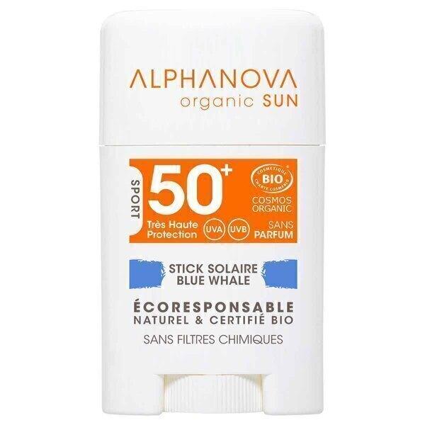 Alphanova - Stick solaire SPF50+ BLEU