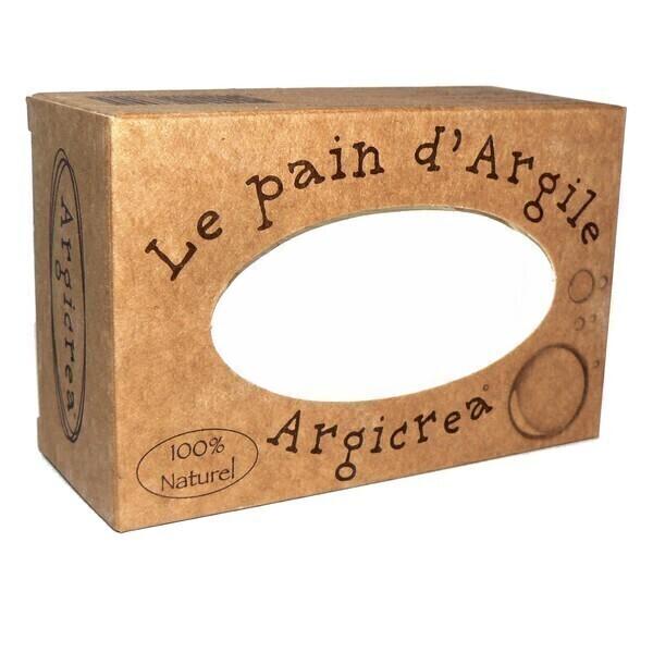 Argicrea - Pain d'argile blanche sans savon 320g