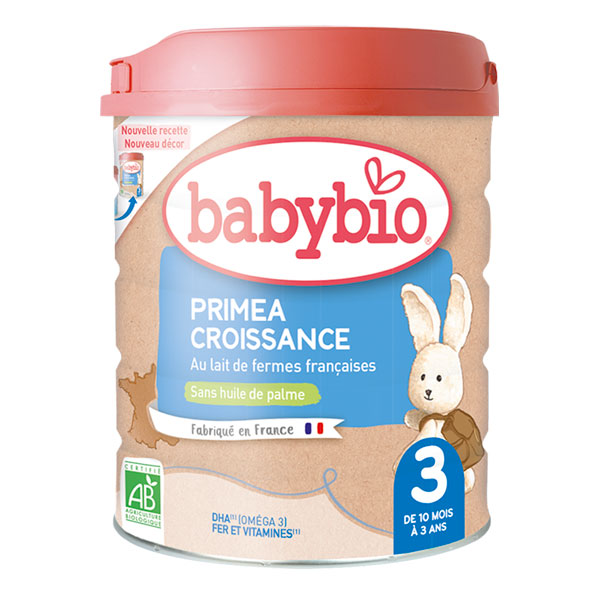 Babybio - Priméa 3 lait de croissance 10 mois 800g