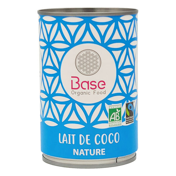 Base Organic Food - Lait de coco King Coconut 40cl