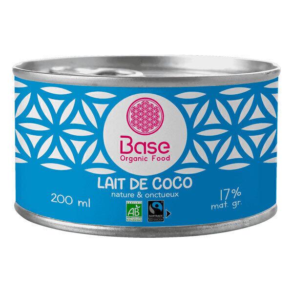 Base Organic Food - Lait de Coco 20cl