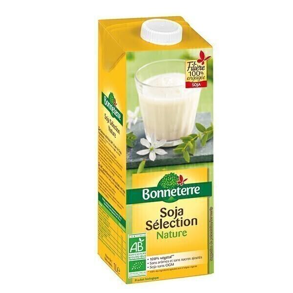 Bonneterre - Boisson végétale soja nature 1L