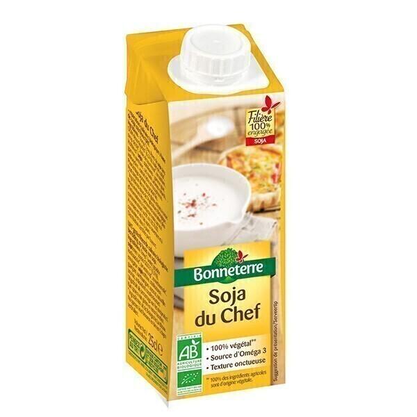 Bonneterre - Crème soja du chef 25cl