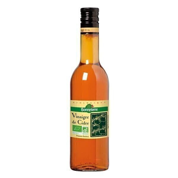 Bonneterre - Vinaigre de cidre non pasteurisé 75cl