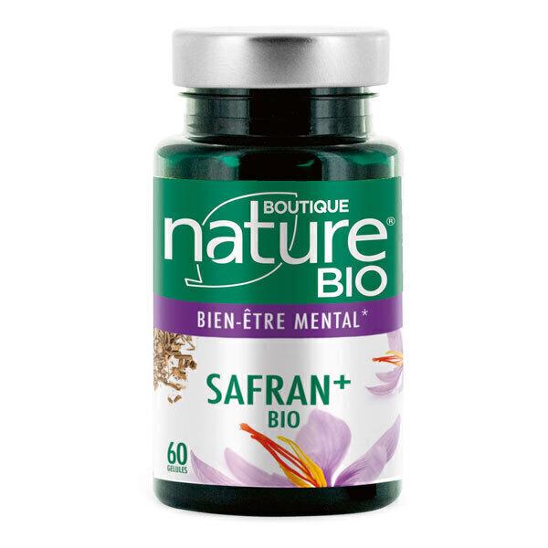 Boutique Nature - Safran+ BIO 60 gélules végétales