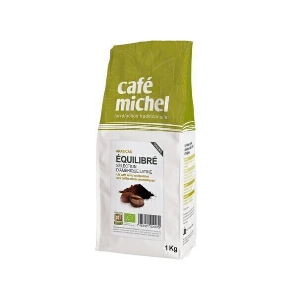 Café Michel - Café en grains Arabica équilibré 1kg