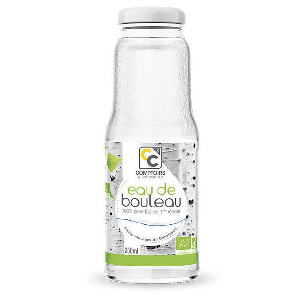 Comptoirs et Compagnies - Eau de bouleau biologique - Bouteille de 250mL