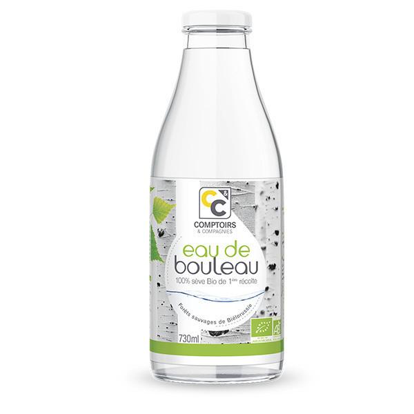 Comptoirs et Compagnies - Eau de bouleau biologique - Bouteille de 730mL