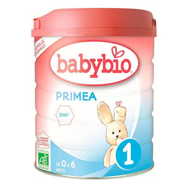 Babybio - Primea 1 lait nourrissons bio 0-6 mois 800g