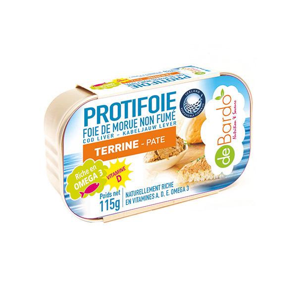 Protifoie - Terrine de Foie de Morue 115g