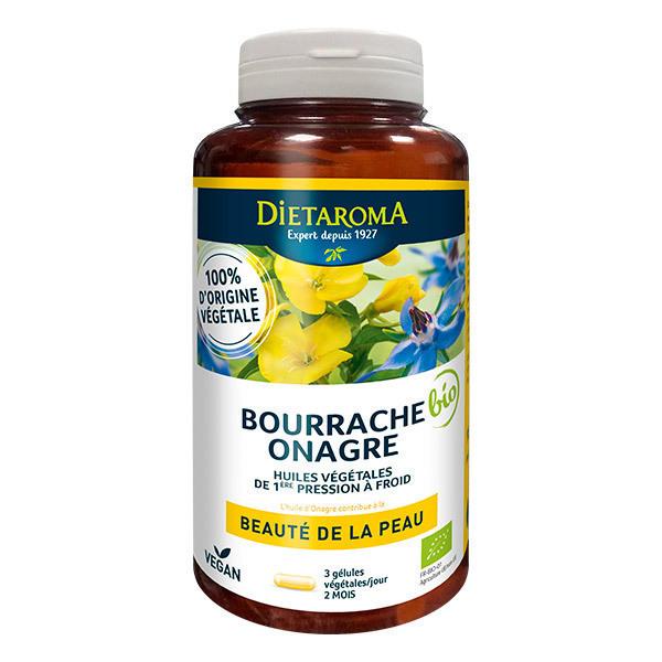 Dietaroma - Huile de Bourrache et Onagre 180 gélules