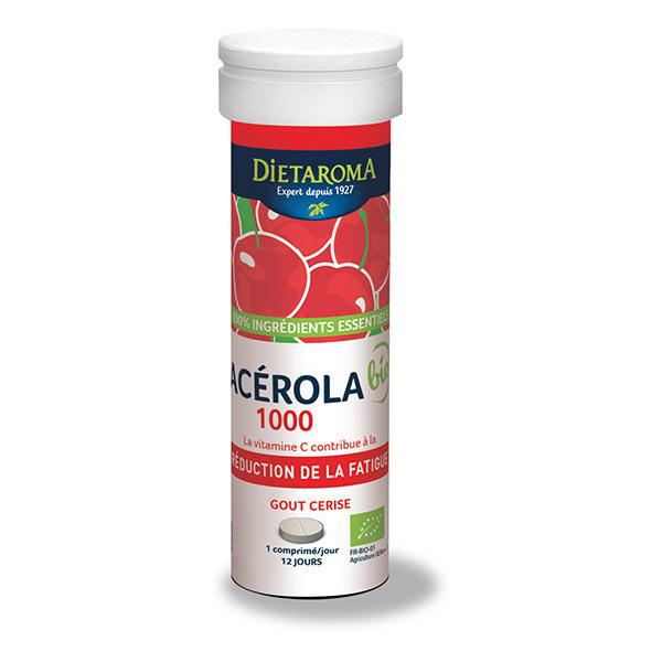 Dietaroma - Mono Tube Acérola 12 comprimés