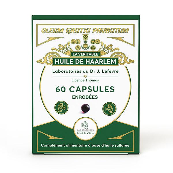 Dr J. Lefevre - Huile de Haarlem - 60 capsules enrobées