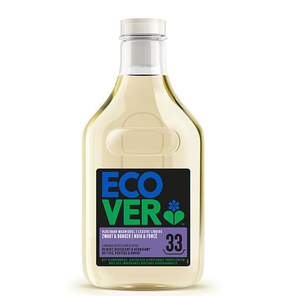 Ecover - Lessive liquide linge noir et foncé 33 lavages 1,5L