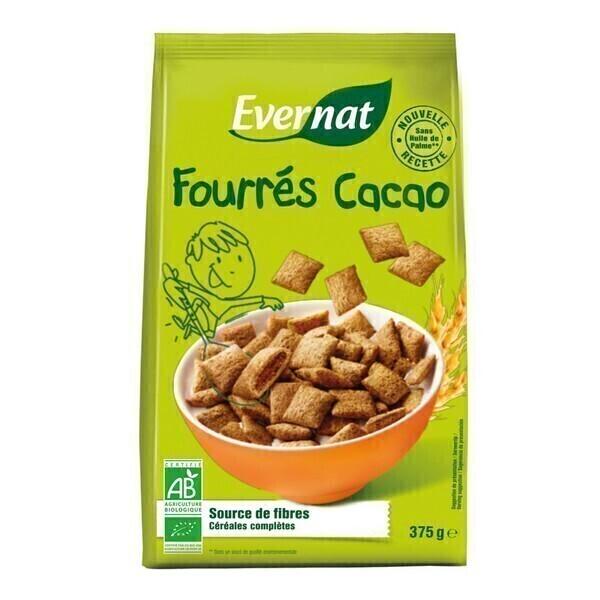 Evernat - Céréales fourrés cacao 375g