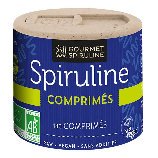 Gourmet Spiruline - Spiruline 180 comprimés