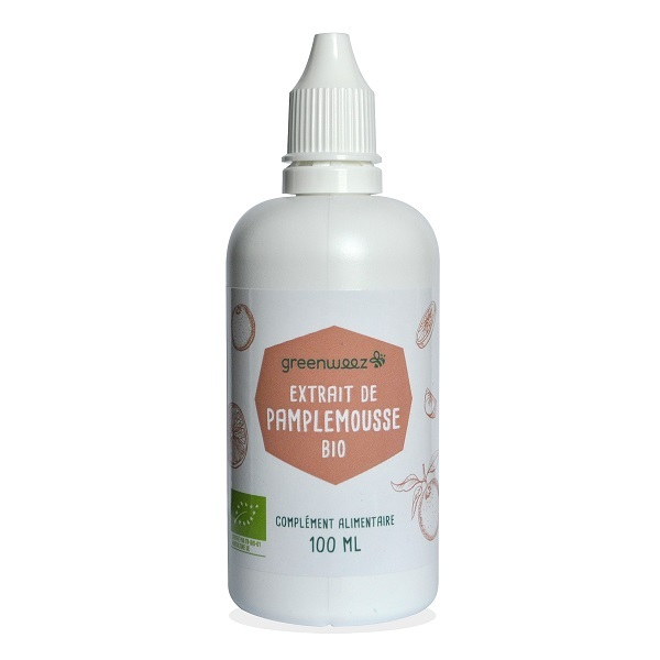Greenweez - Extrait de pamplemousse Bio 100ml