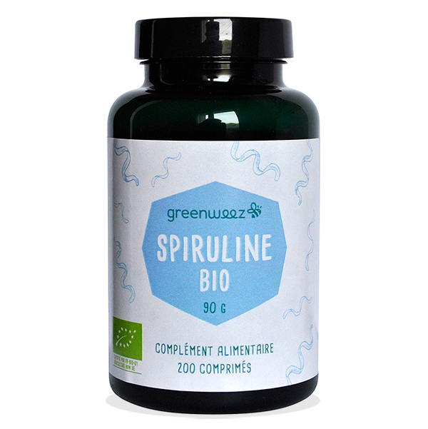 Greenweez - Spiruline Bio 200 comprimés