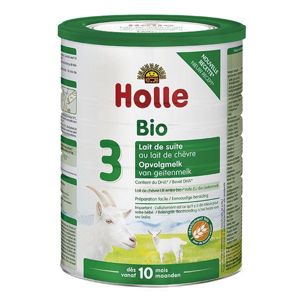 Holle - Lait de chèvre infantile bio 3ème âge 800g - Dès 10 mois