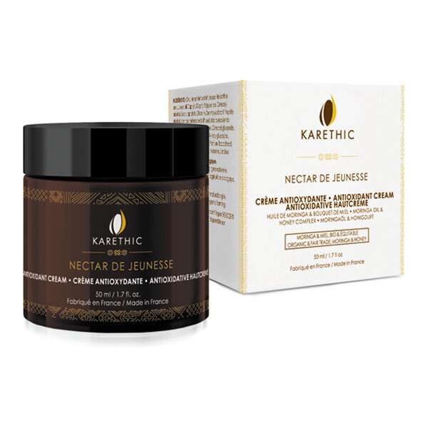 Karethic - Crème antioxydante Nectar de jeunesse BIO 50ml