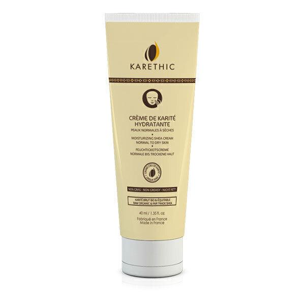 Karethic - Crème hydratante visage karité BIO 40ml