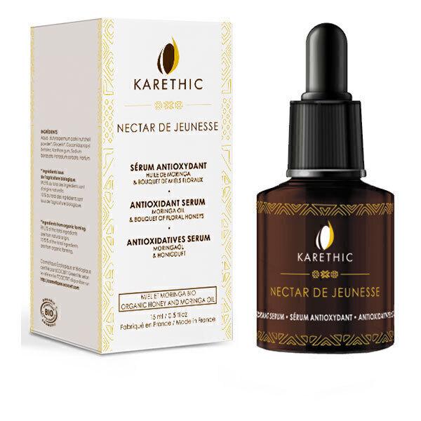 Karethic - Sérum antioxydant Nectar de jeunesse BIO 30ml
