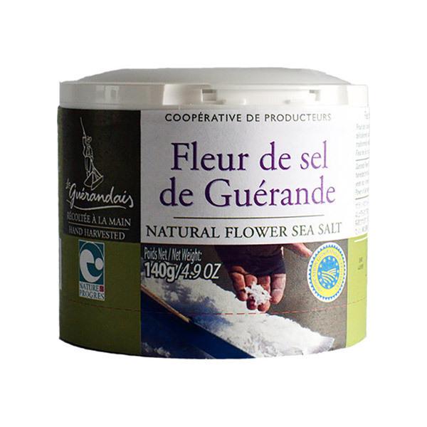 Le Guérandais - Fleur de sel de Guérande boîte 140g