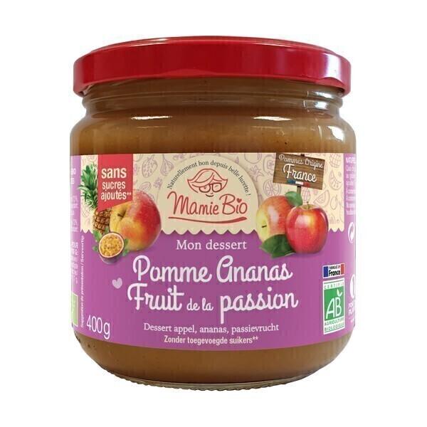 Mamie Bio - Purée pomme ananas passion 400g