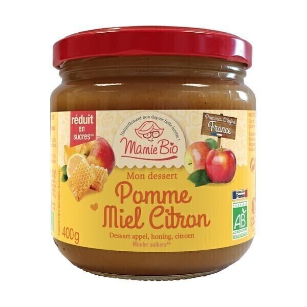Mamie Bio - Purée pomme citron miel 400g