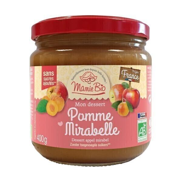 Mamie Bio - Purée pomme mirabelle 400g