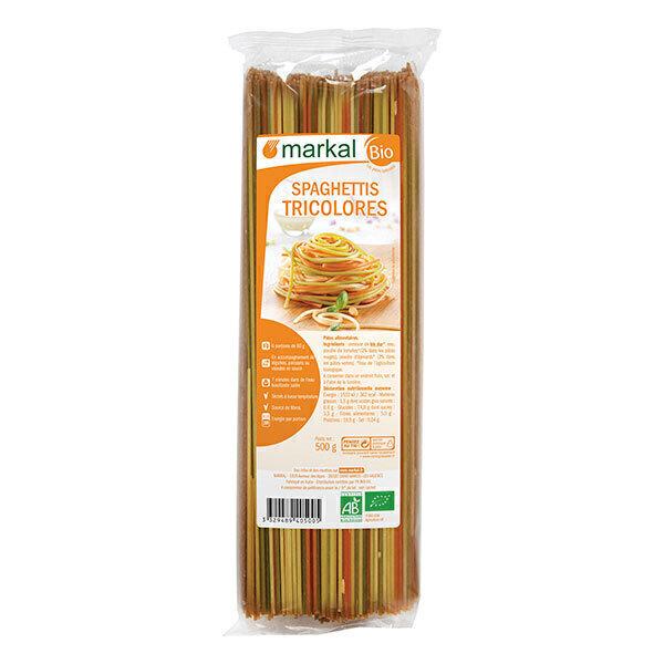 Markal - Spaghettis 3 couleurs 500g