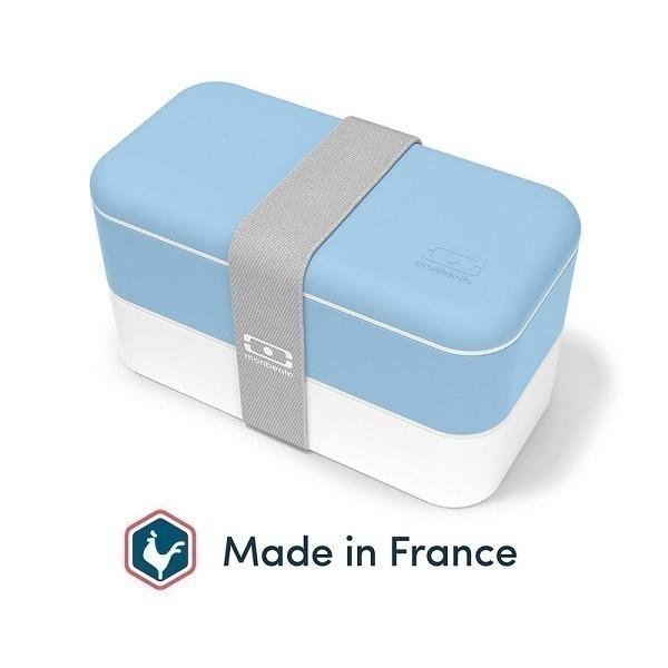 monbento - Bento MB Original made in France Bleu Crystal 1L