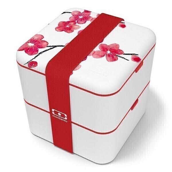 monbento - Boîte bento carrée MB Square Graphic Blossom 1,7L