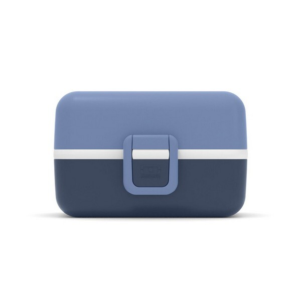 monbento - Boîte bento enfant MB Tresor Bleu Infinity 80cl